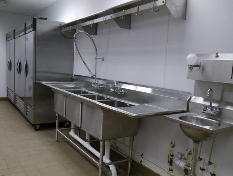 Commercial Kitchen Plumbing Design Commercial Stainless Steel