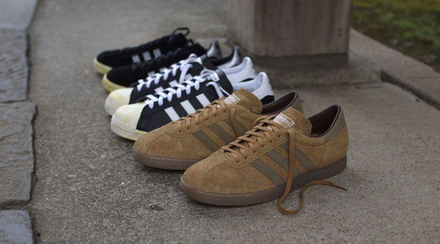 45fde3677aca1f adidas Originals for mita sneakers Holiday 2012 Vintage Pack – Campus 80s