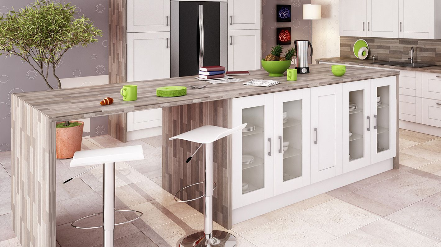 astuce prolonger le plan de travail de votre lot pour cr er un coin repas convivial dans. Black Bedroom Furniture Sets. Home Design Ideas