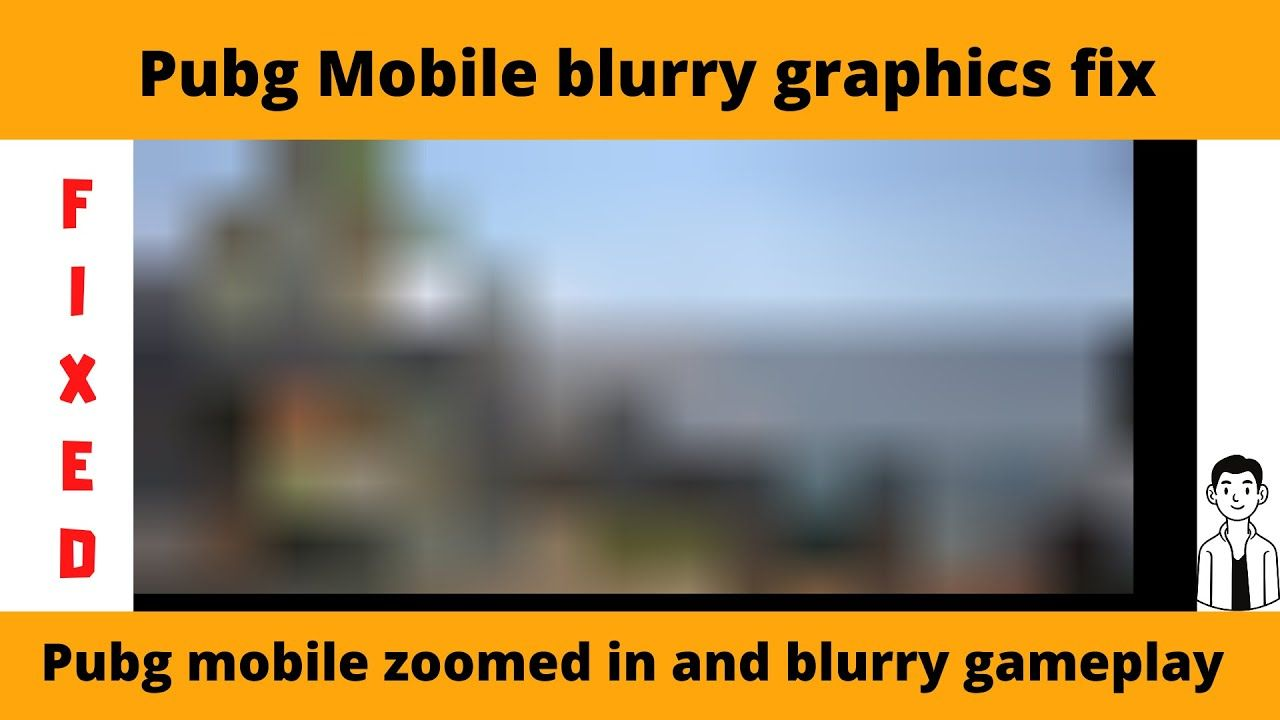 Pubg mobile zoomed in and blurry gameplay Pubg Mobile