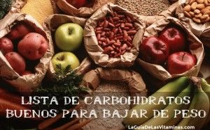 Lista De Carbohidratos Buenos Para Bajar De Peso Low Carbohydrate Recipes Fruits And Veggies Whole Food Recipes
