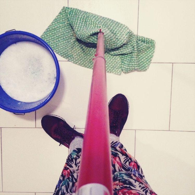 How to Clean Tile Floors Ceramic floor, Cleaning tile