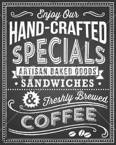 restaurant chalkboard fonts google search the market design