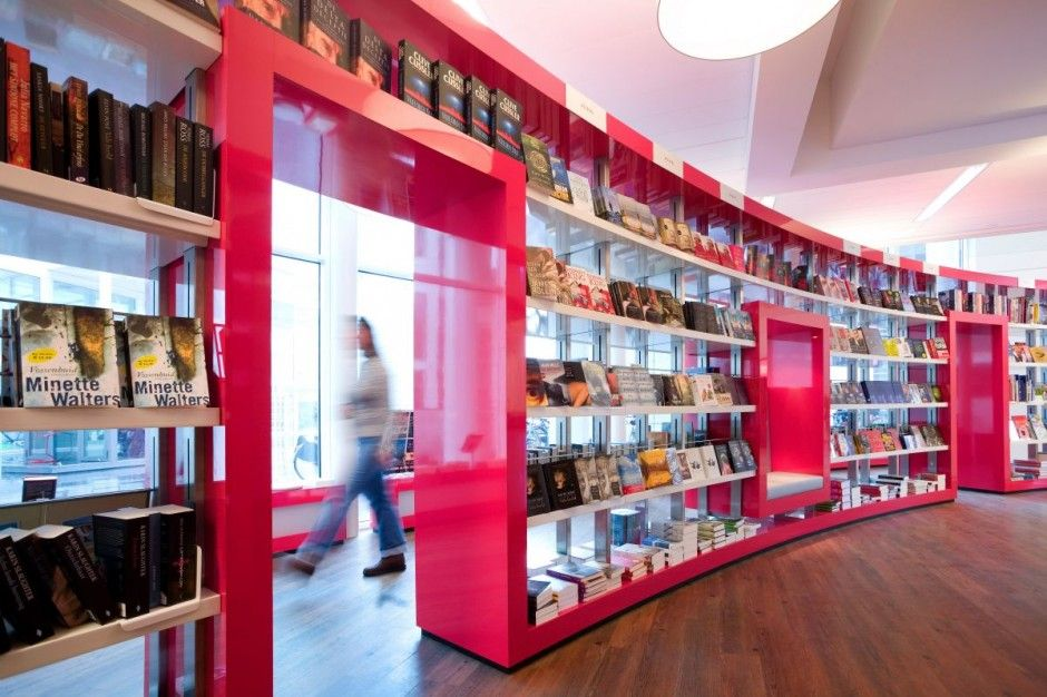 Paagman Book Store Design By CUBE Architects