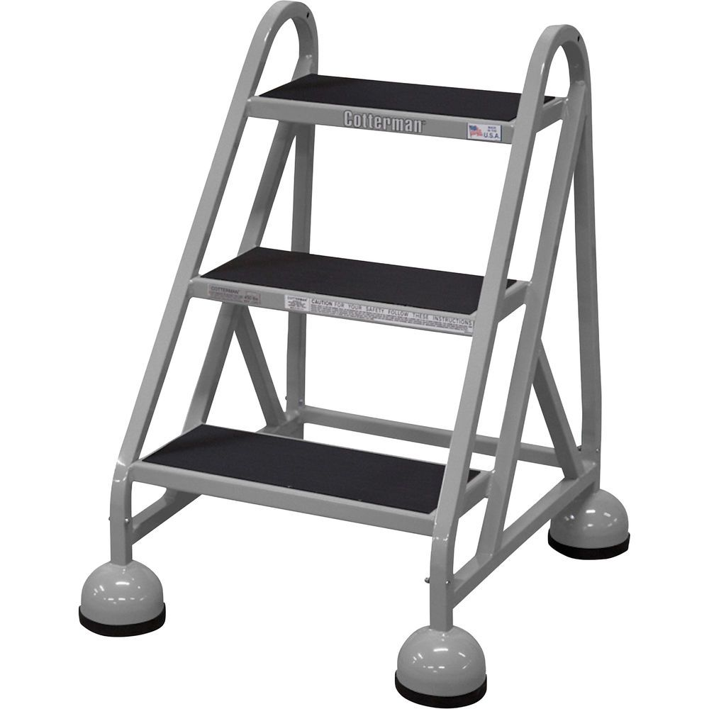Cotterman steel step ladder 27in max height ebay