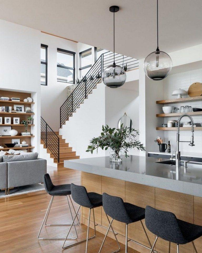85 Interior House Design Trends 2020 In 2020 Kitchen Inspiration Design House Interior Kitchen Design