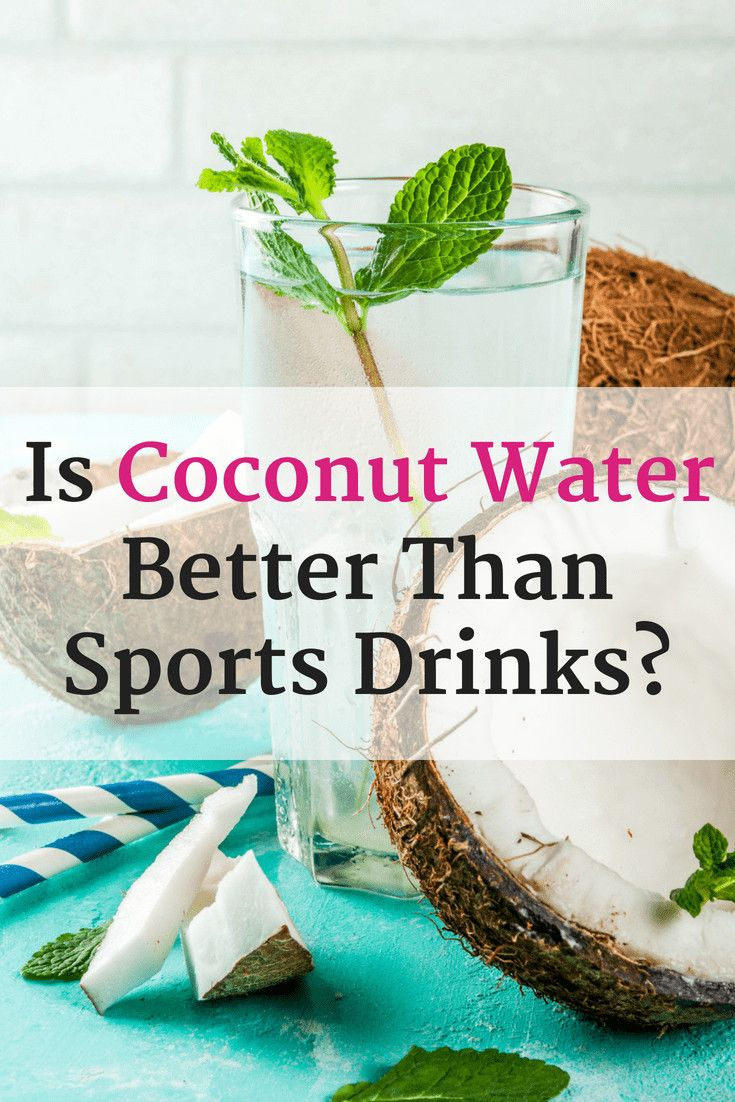 coconut water for runners: everything you need to know