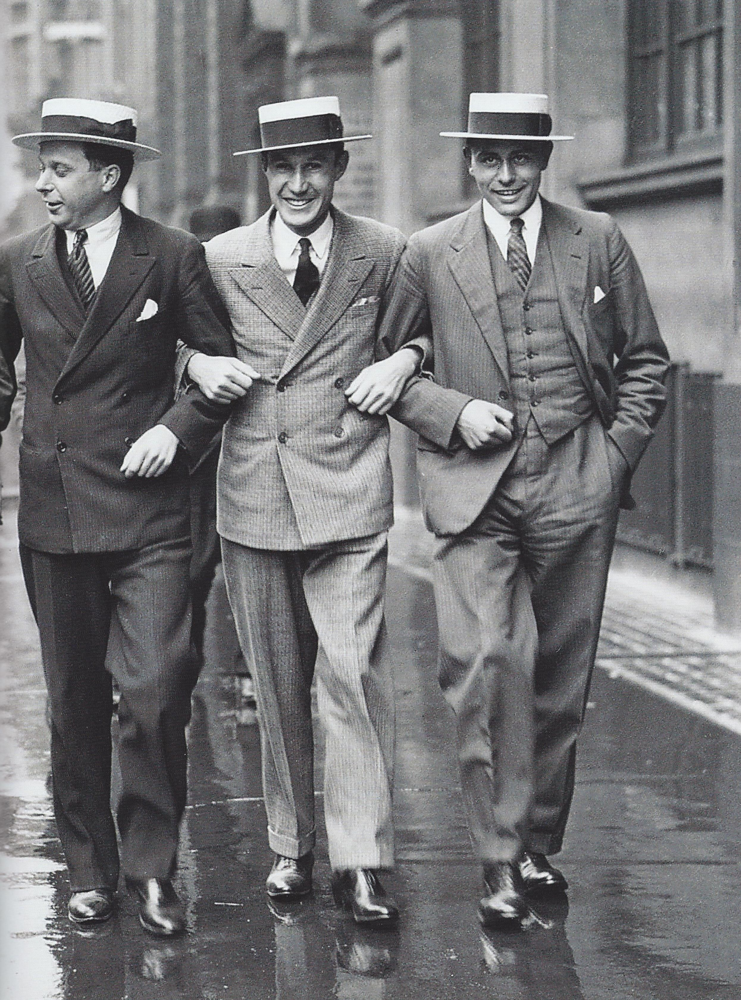 1920s Men S Fashion: Some Fashionable Young Chaps From The 20s