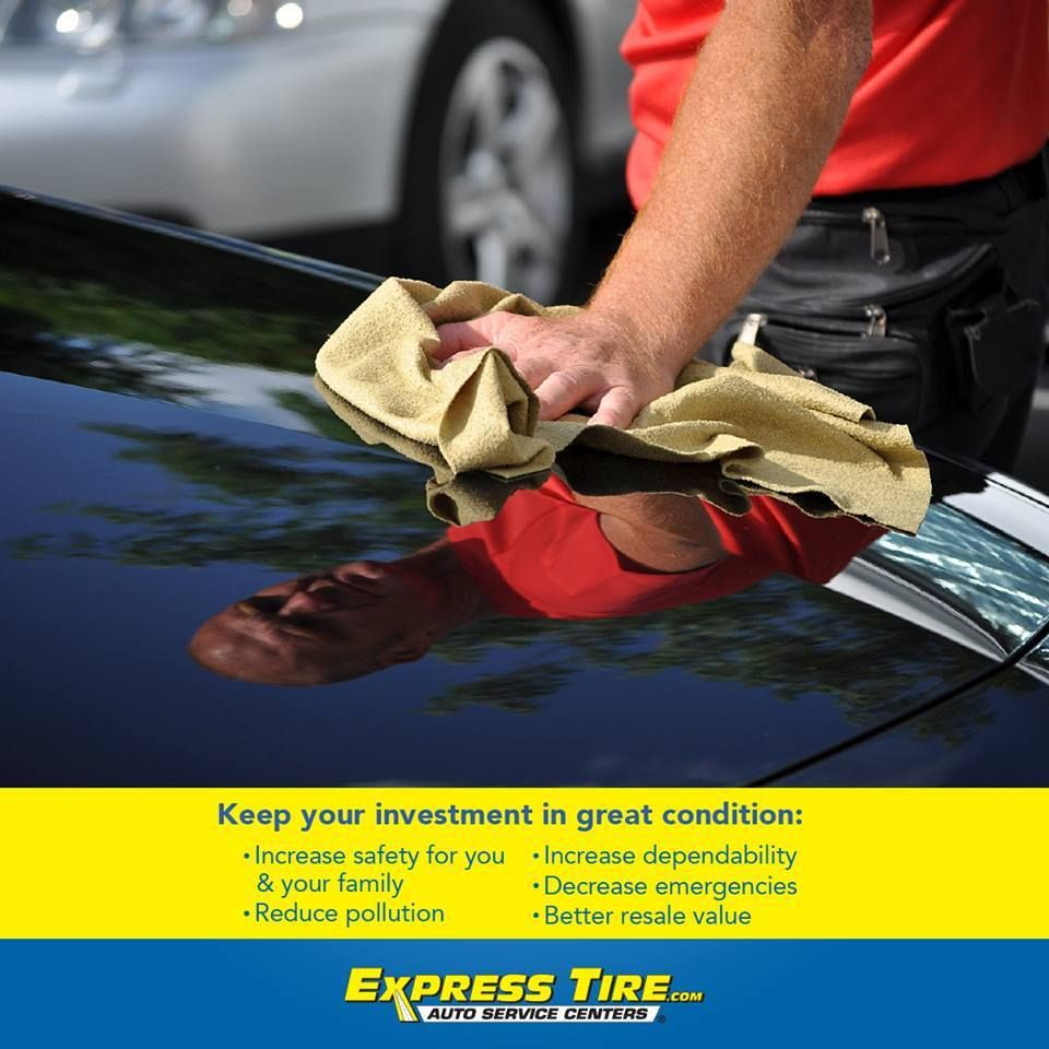 Keeping your #vehicle in tip-top shape is important. #ExpressTire