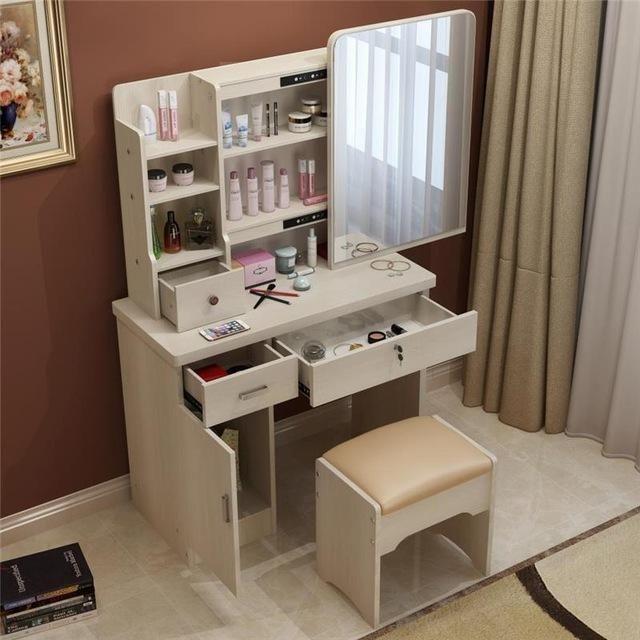 Best Dresser Bedroom Make Up Table Simple Modern Small Mini 400 x 300