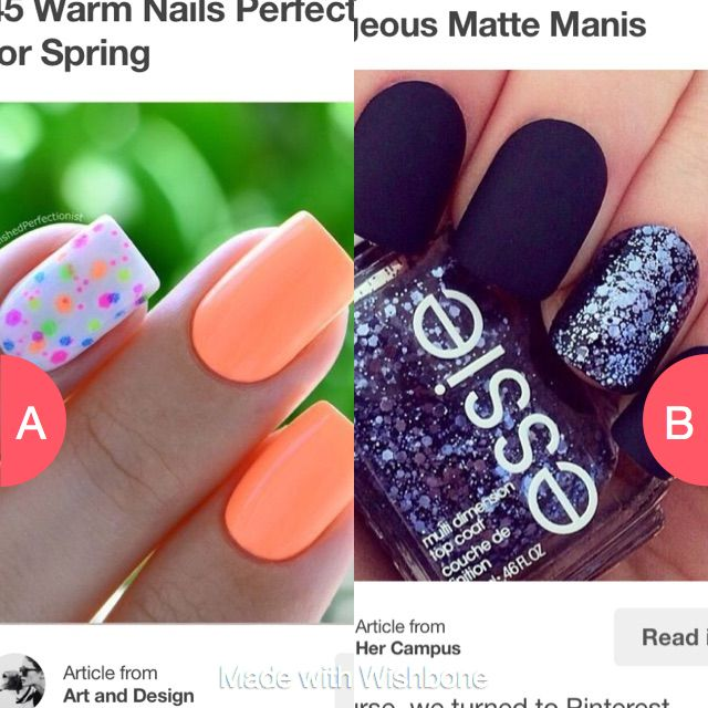 which nail art  Click here to vote @ http://getwishboneapp.com/share/5182324