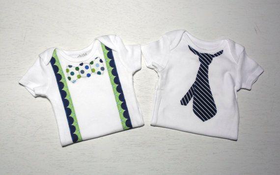 Baby Boy Onesie Set  Baby Boy Gift Set  by TheCraftyMenagerie, $25.00