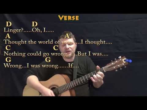 Linger (The Cranberries) Guitar Cover Lesson with Chords/Lyrics ...