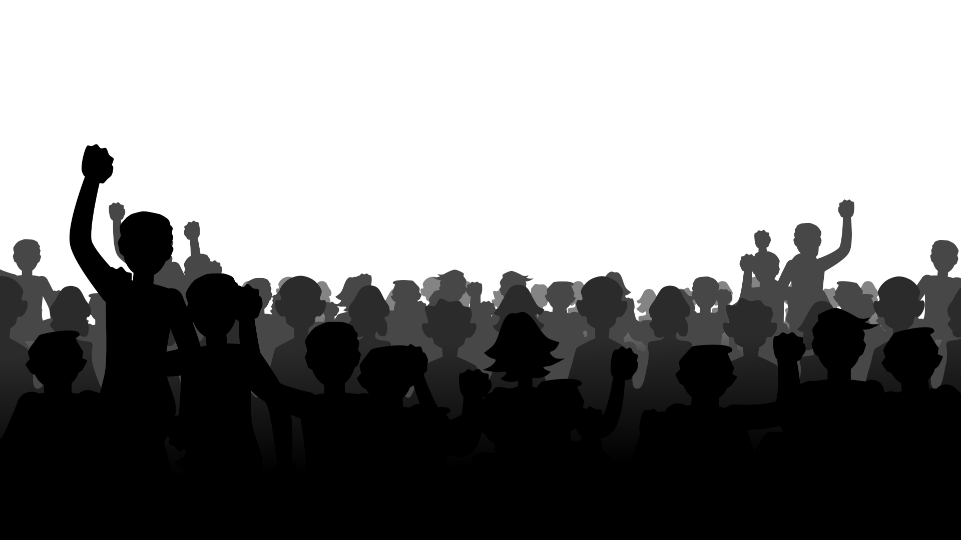 Crowdsilhouette Png 1920 1080 Concert Crowd Silhouette Png Concert