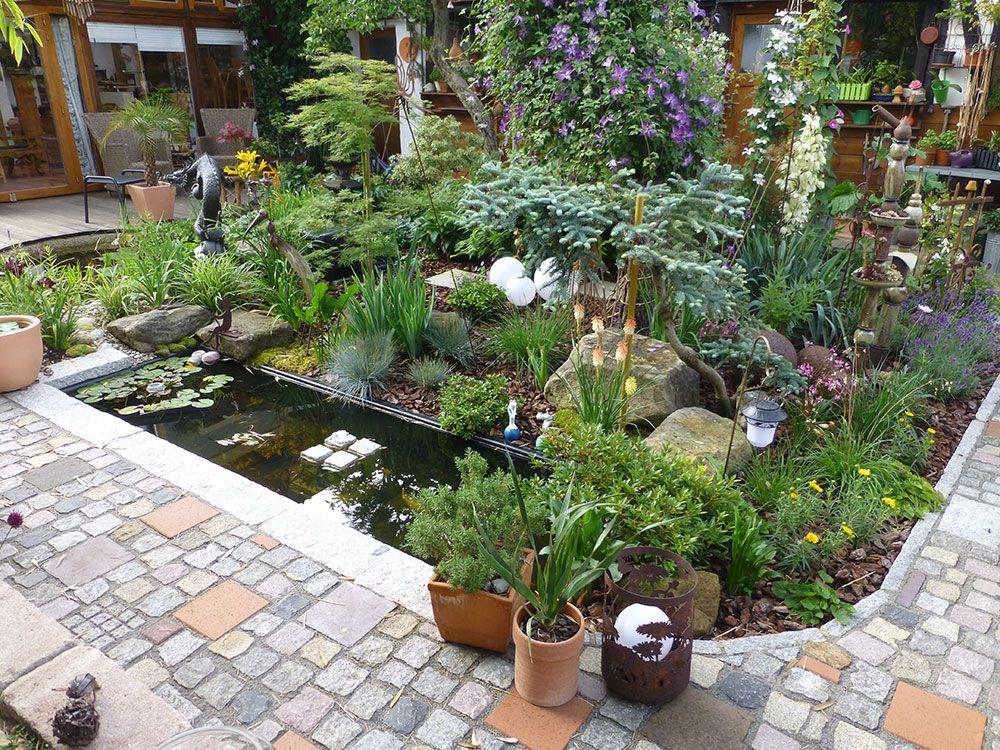 Pin by Jan L Slink GmbH on Referenzen Garten Brunnen - brunnen garten stein