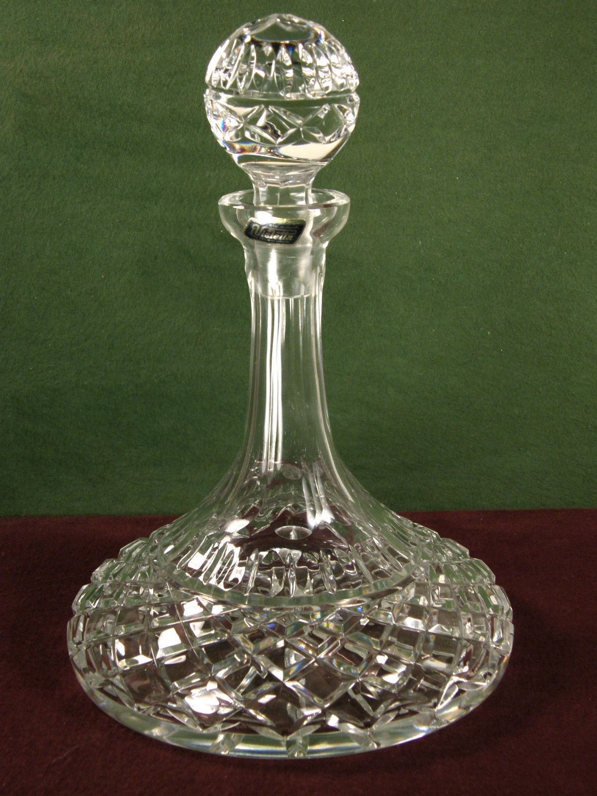 Lead Crystal Wine Decanter Winedecanter Crystal Glassware Crystal Decanter Crystals