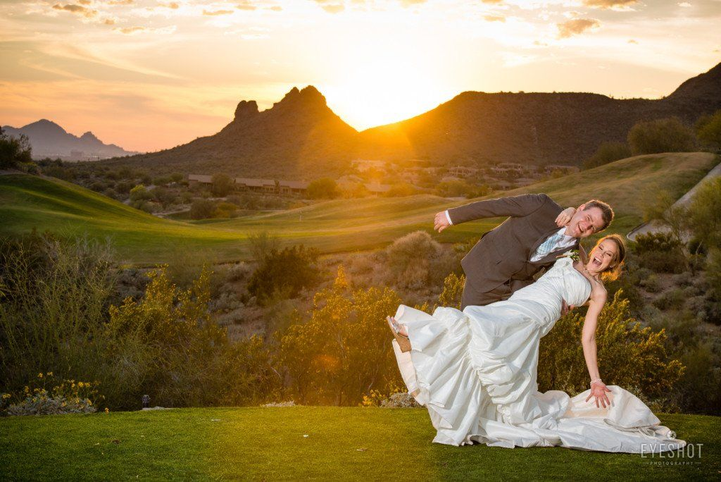 Eagle Mountain Golf Club Course Wedding Outdoor Ceremony Fountain Hills Arizona