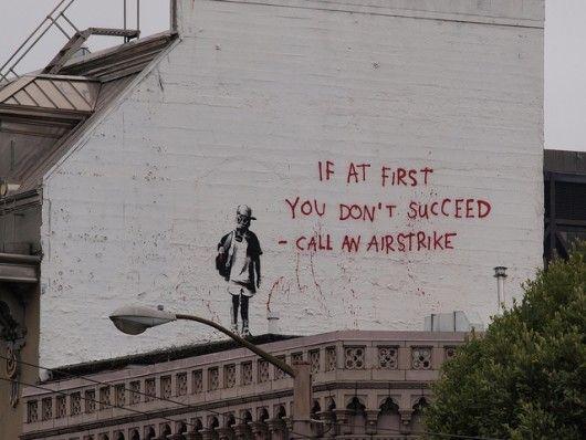 Banksy - Airstrike | Art in 2019 | Banksy artwork, Banksy