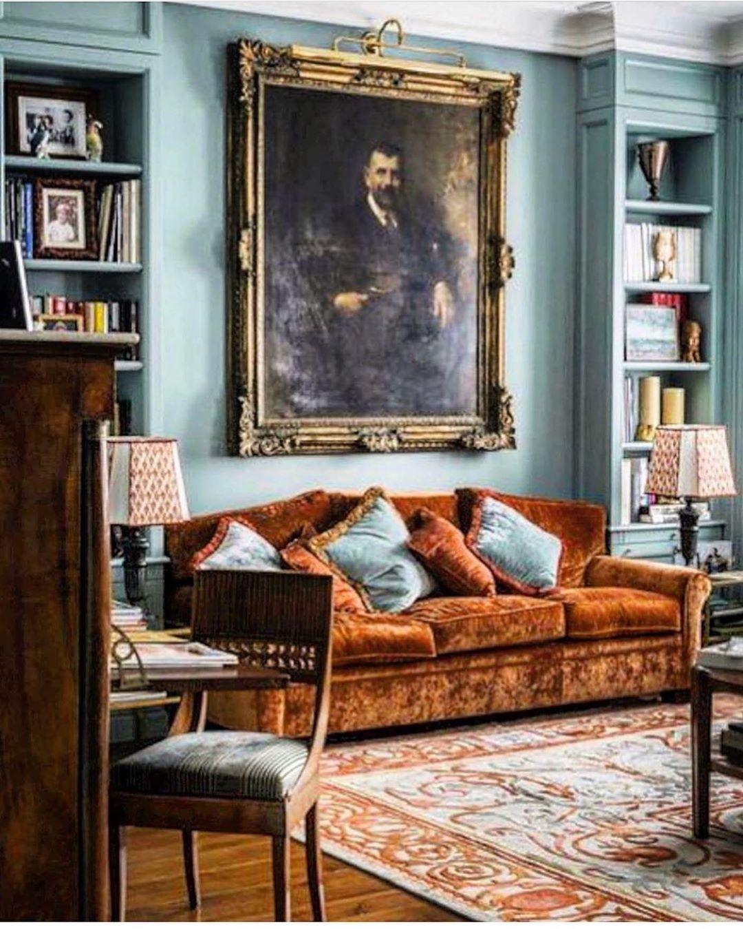 Home Librarydesign Ideas: Scheffer Interiors&ObjetsD'art On Instagram: Home Library
