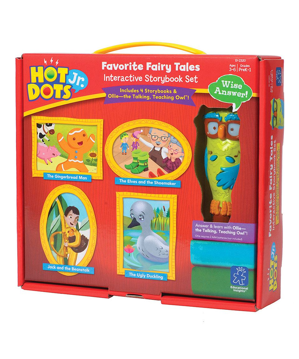 Look what I found on #zulily! Favorite Fairy Tales Interactive Storybook Set by Hot Dots #zulilyfinds