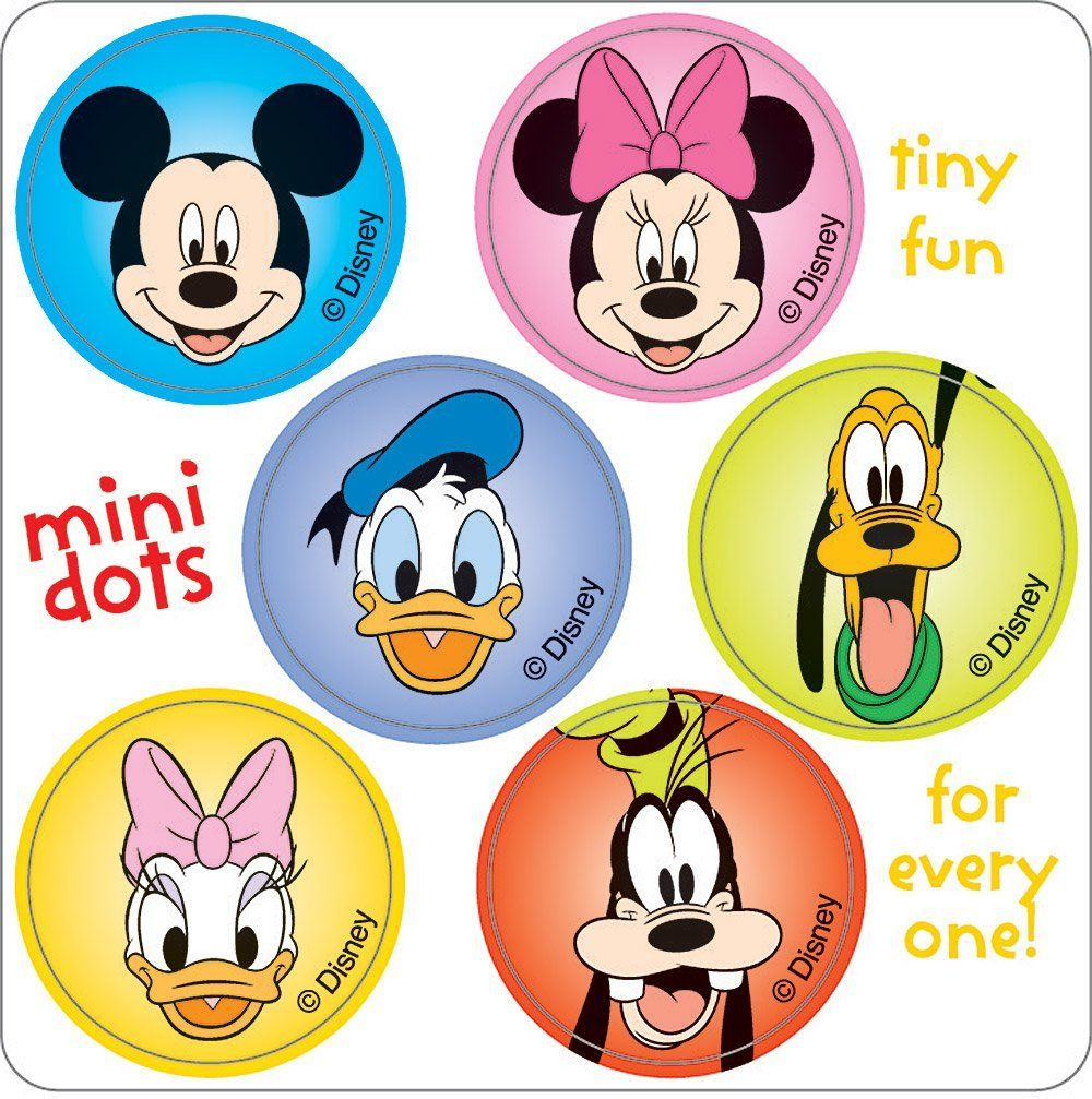 Mickey Mouse Clubhouse characters for face painting | Face ...