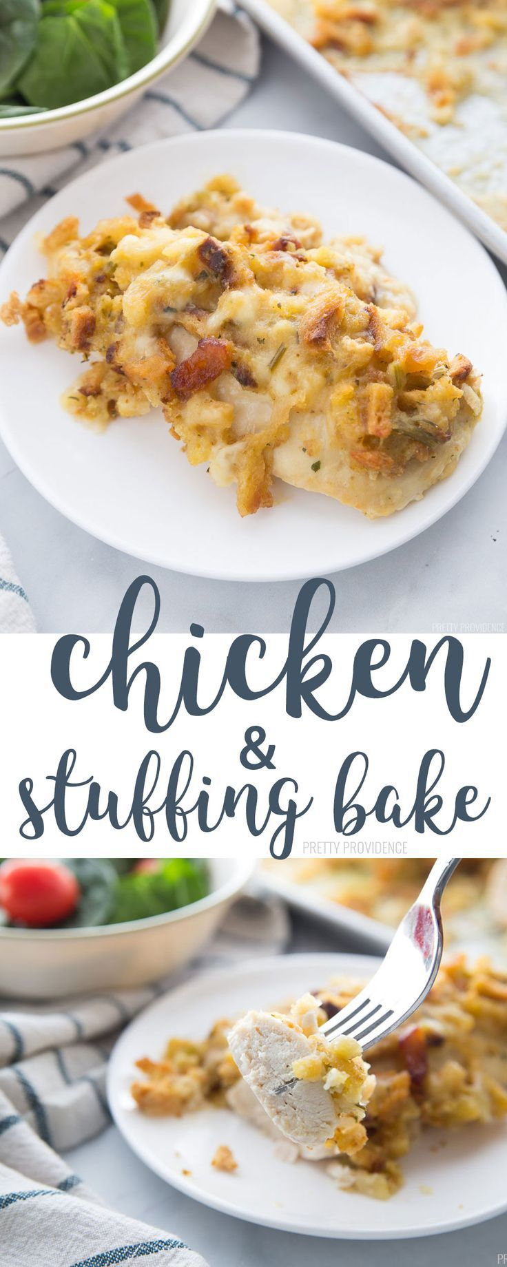 Chicken Stuffing Bake images