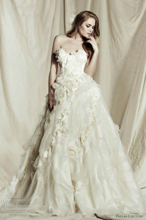Silk OrganzaStrapless OrganzaWeddingideasDress WeddingWedding DresssesWatters Wedding DressesBall Gown Dress StylesWedding Gallery
