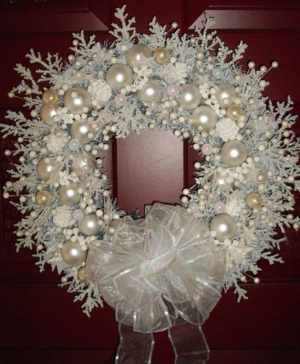 top 40 shabby chic christmas decoration ideas christmas celebration - Handmade Shabby Chic Christmas Decorations