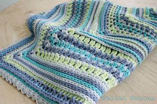 Breath of Heaven Baby Blanket - Felted Button blog