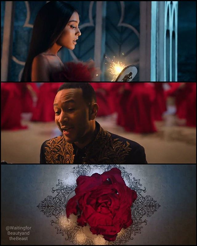Beauty And The Beast Official Music Video Ariana Grande And John