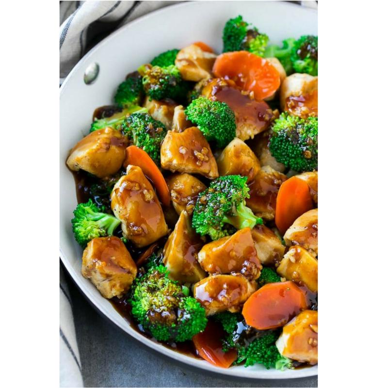 honey garlic chicken stir fry kochen pinterest h hner h hnchen und gesundes essen. Black Bedroom Furniture Sets. Home Design Ideas