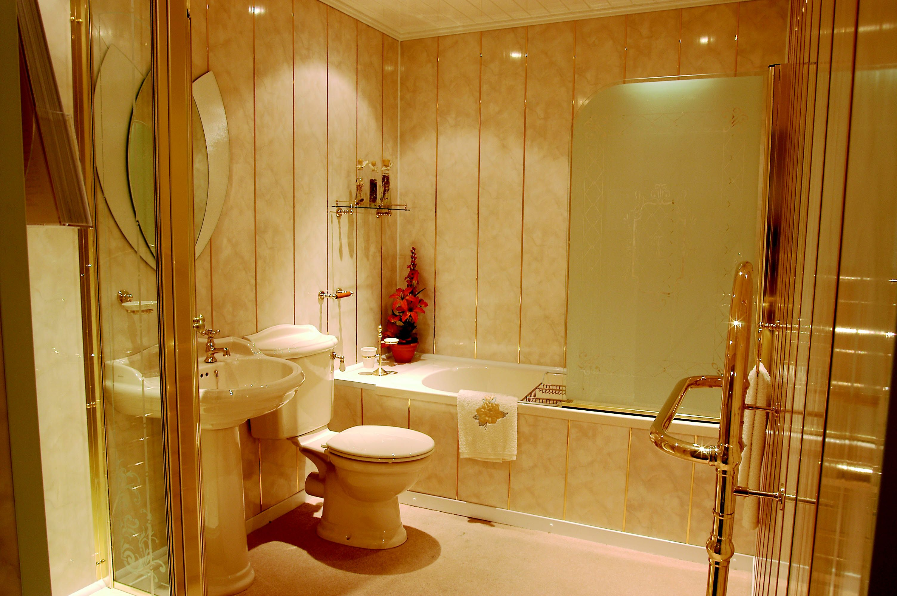 Nice Decorative Panels For Bathroom Walls Images - The Wall Art ...