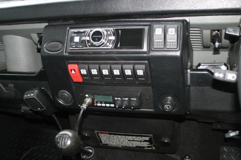 N Reg 1996 Defender 90 300tdi Dash Upgrade Help Landyzone Land Rover Forum Land Rover Defender Land Rover Defender Interior Land Rover