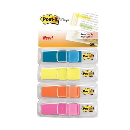 Brights Post-it Flags and Arrow Flags Value Pack with Free Post-it Tabs 1-Inch