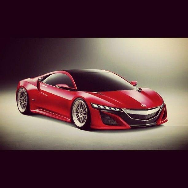 Acura Nsx, Autos Rojos
