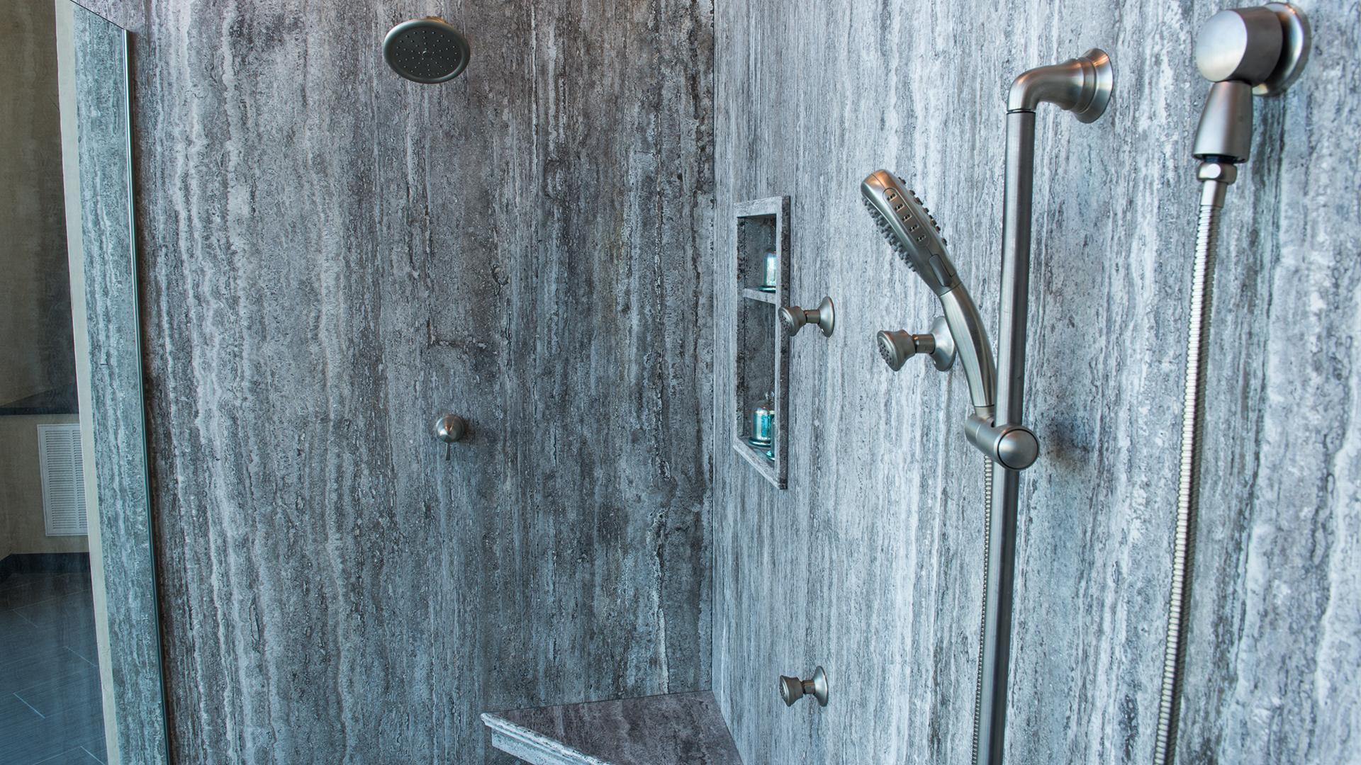 A GREAT EXAMPLE OF A PERFECT FORZASTONE® SHOWER INSTALLTION Brand ...