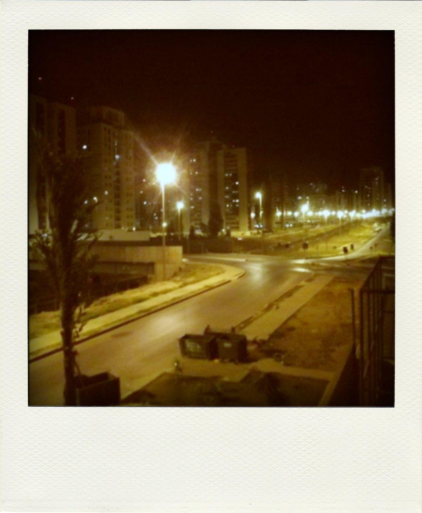 noite em Águas Claras.