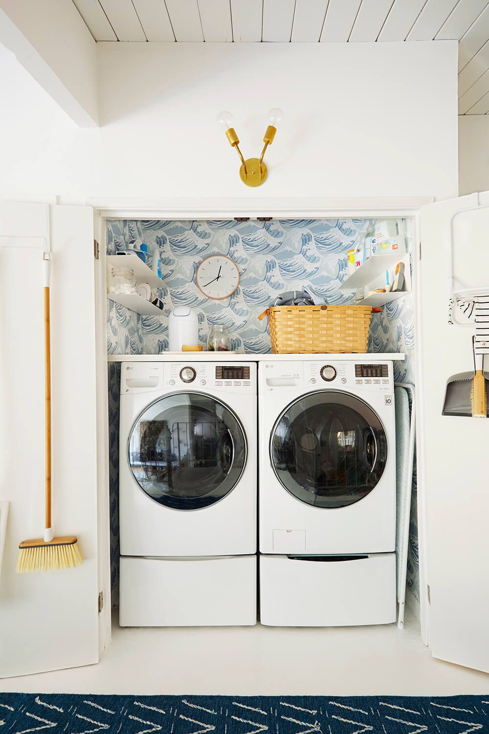 Emily Henderson Interior Design Blog Laundry Closet Makeover