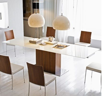 Calligaris Park Glass Extendable Dining Table   Advanced Interior Designs. Calligaris Park Glass Extendable Dining Table   Parks  Interiors