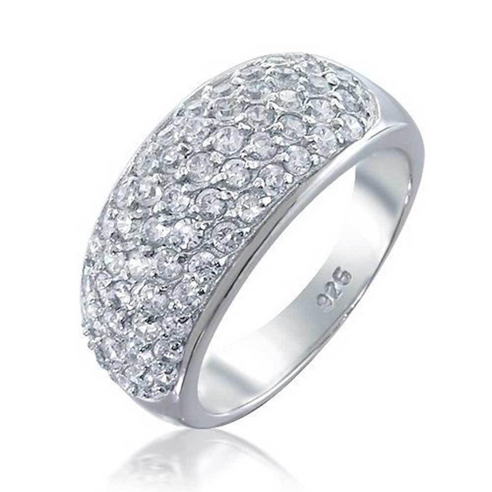 .925 Sterling Silver 9 MM Half-Round Wedding Band Ring
