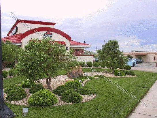 A Commercial Landscaping Plan garden plants Pinterest