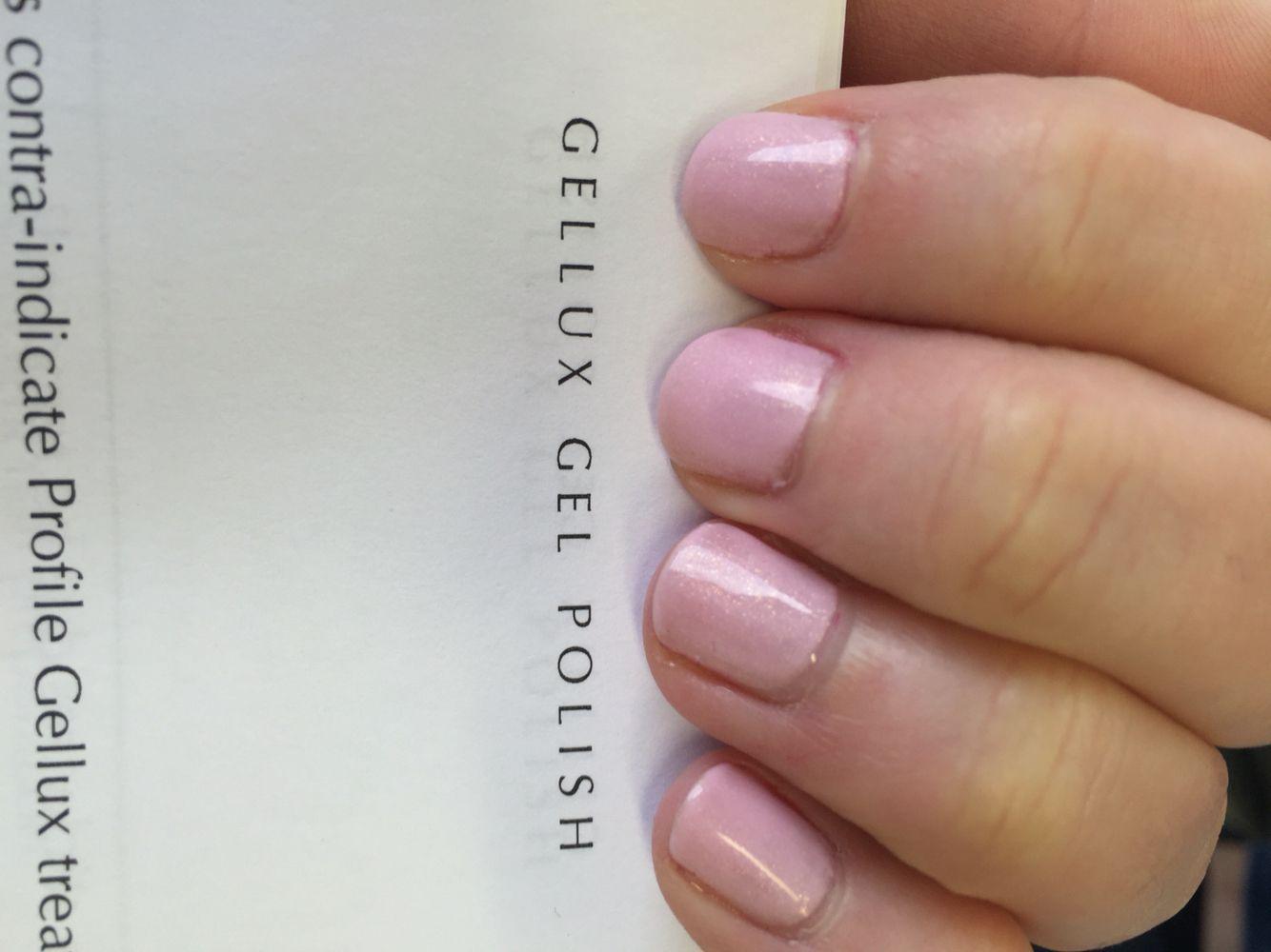 Gellux nail polish - marshmallow | Gel nails | Pinterest