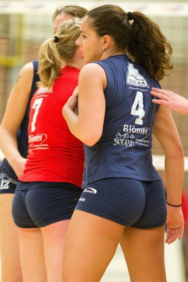 Sexy volley ball girls