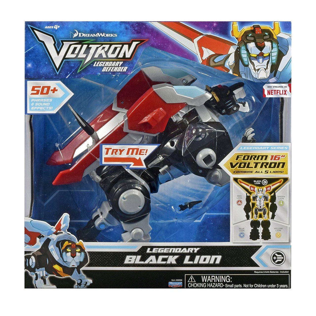 "VOLTRON Legendary Defender Green Lion 6"" Action Figure Dreamworks Playmates NEW"