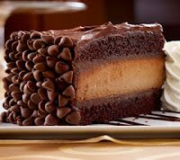 """HERSHEY'S CHOCOLATE BAR CHESSECAKE ----- ♥ ♥ ----- Don't Ya Know.... Staring's Rude?? ----- ♥ ♥ ----- """"Click the pic and get the recipe already."""""""