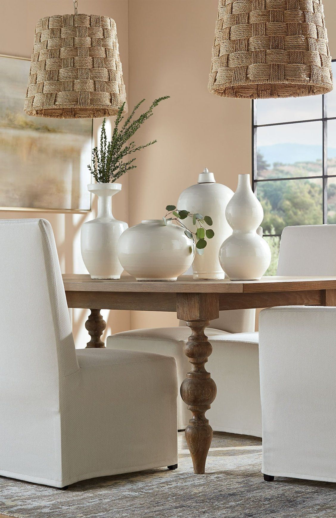 Campbell Dining Table Frontgate Dining Table Decor Indoor Decor