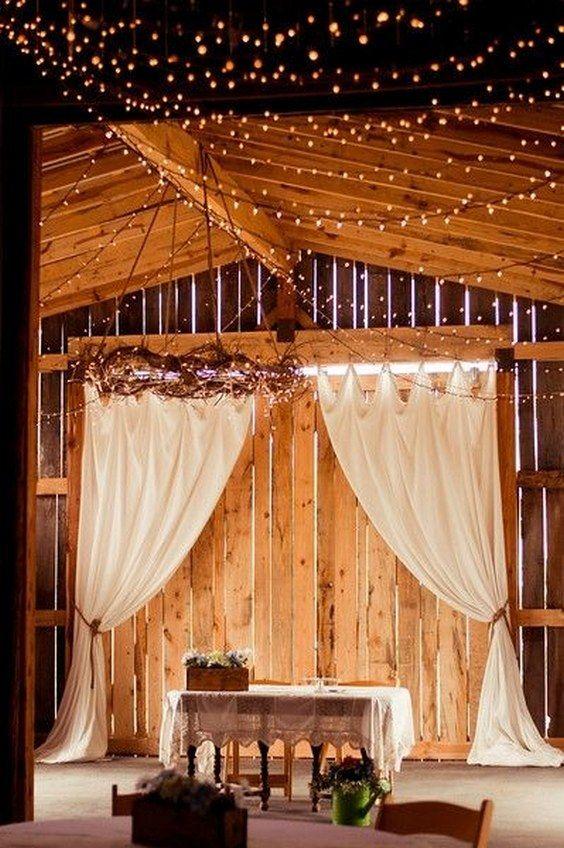 Indoor Barn Wedding Backdrop Deerpearlflowers Ideas From 2