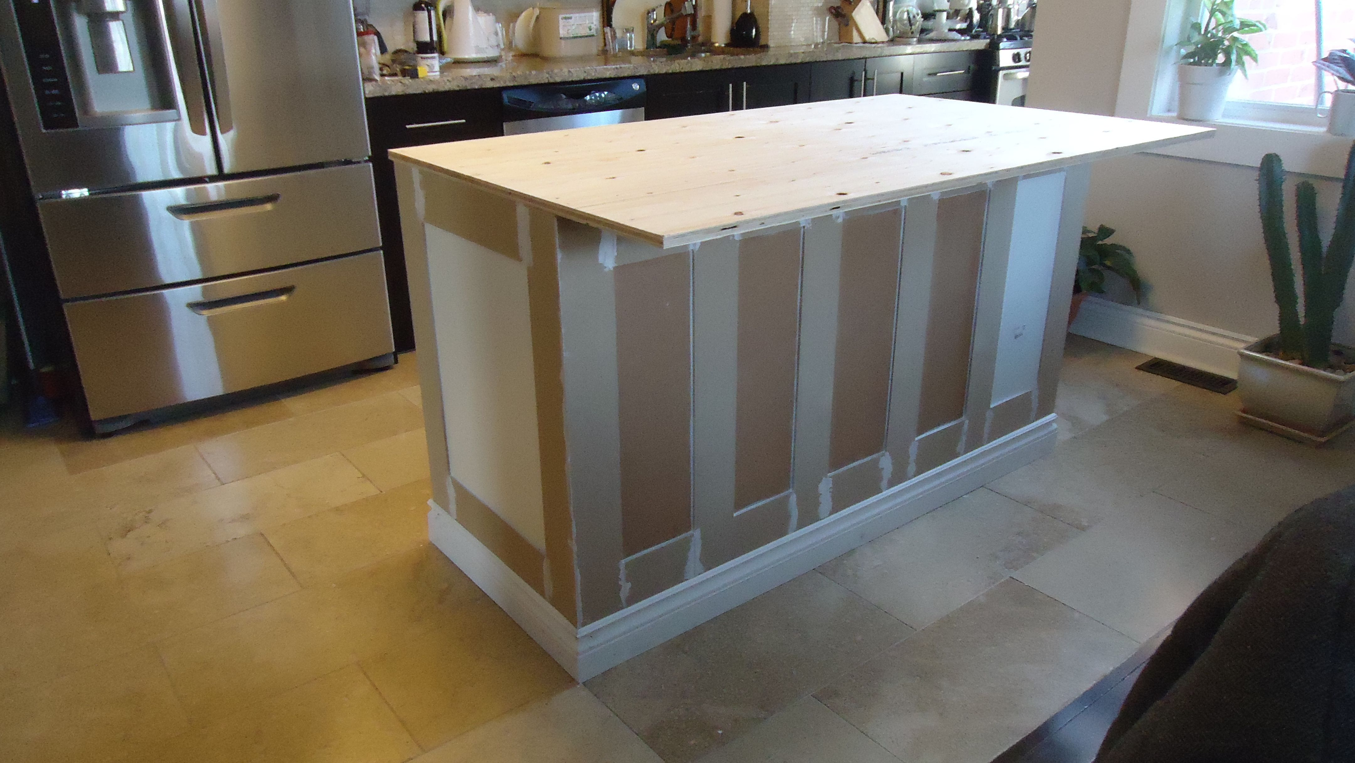 Perfect Building A Kitchen Island
