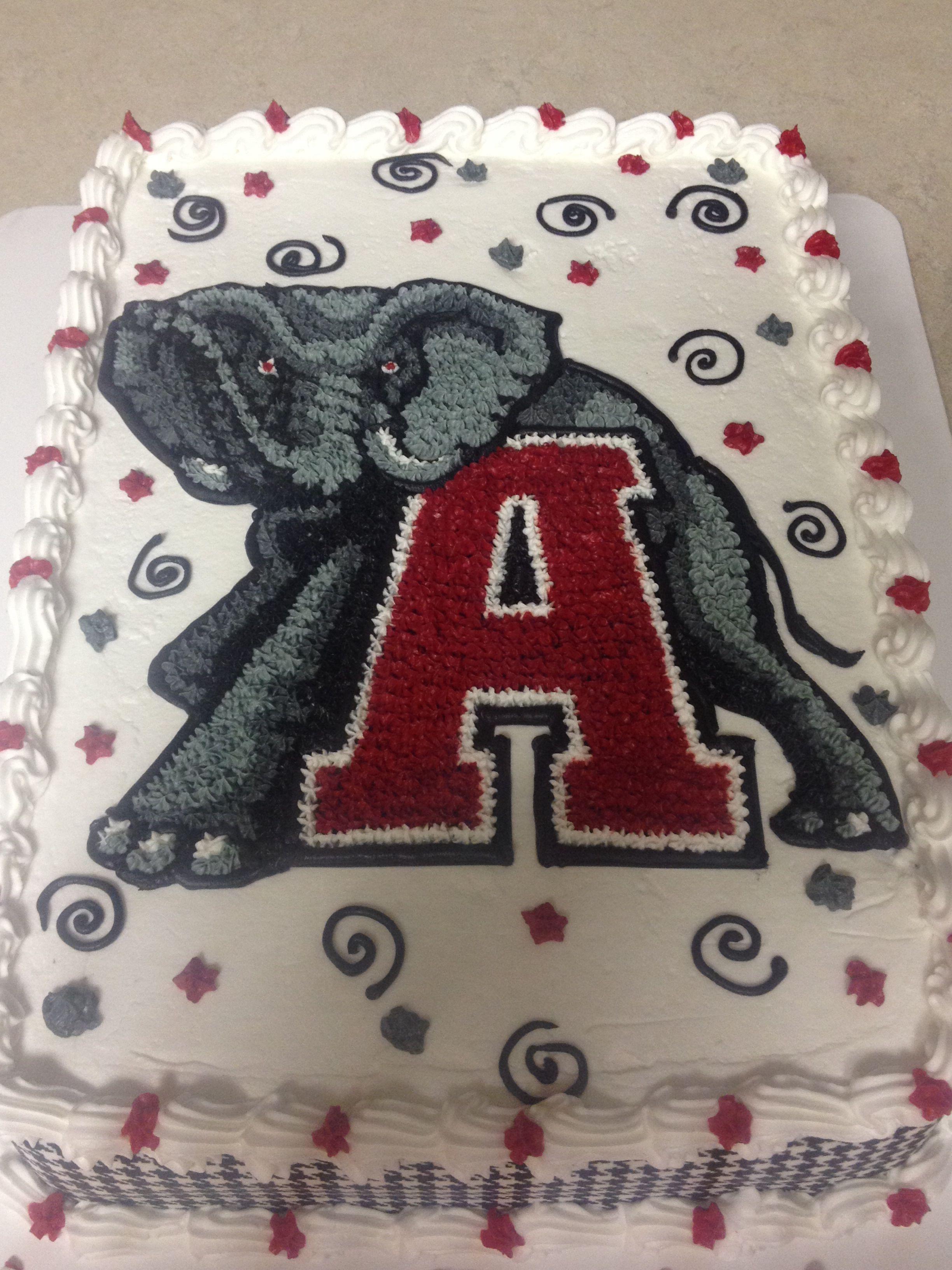 Tremendous Alabama Birthday Cake For Jason Alabama Birthday Cakes Alabama Personalised Birthday Cards Veneteletsinfo