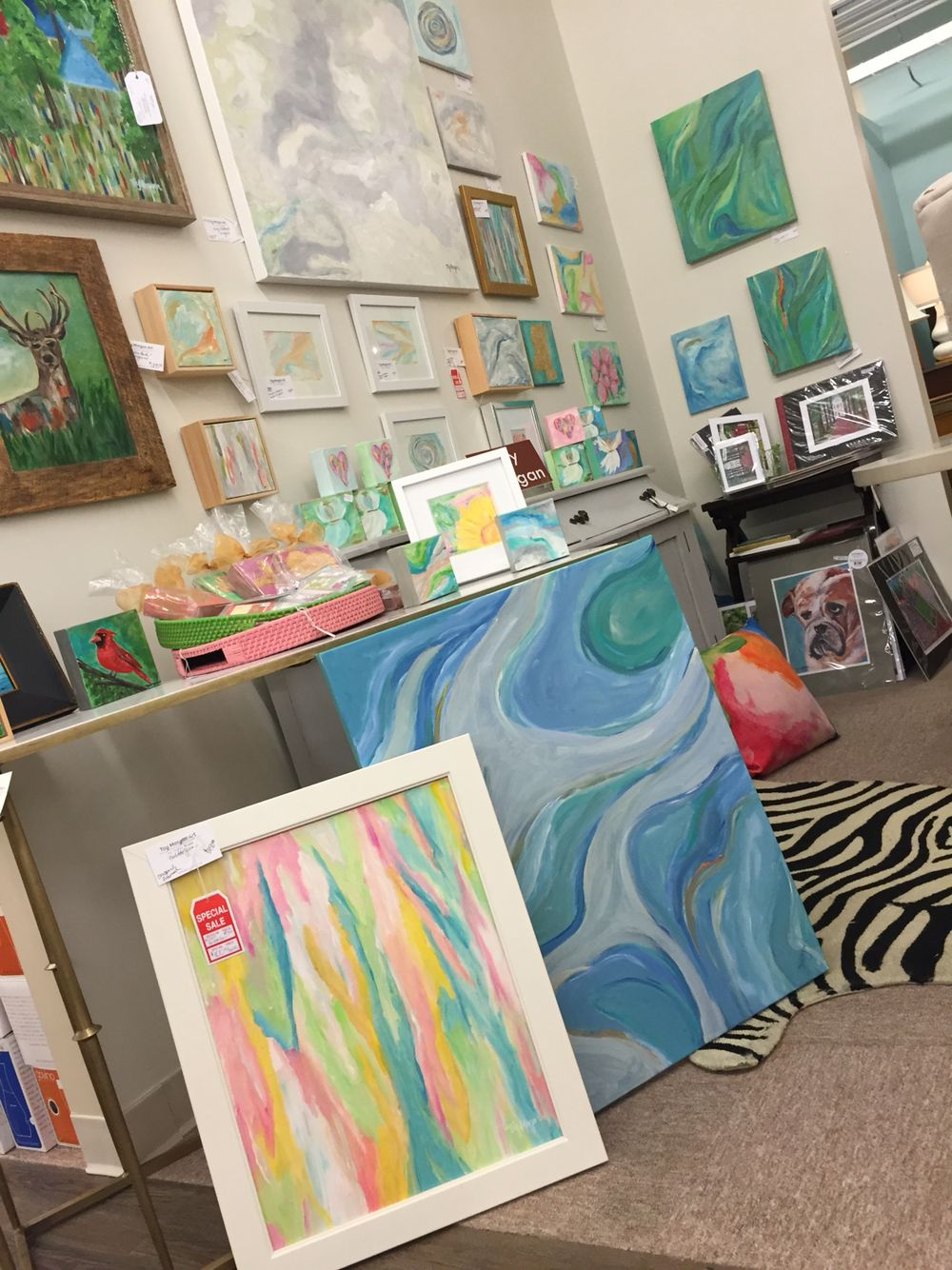 Interior Spaces Art Booth In Jackson Ms